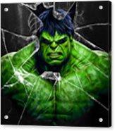 The Incredible Hulk Collection Acrylic Print
