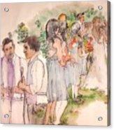 The Wedding Album  Acrylic Print