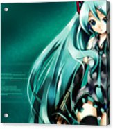 16291 1 Other Anime Vocaloid Hatsune Miku Vocaloid Hatsune Miku Acrylic Print