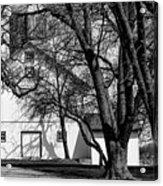 169 Marshfield Wisconsin Farm B W Acrylic Print