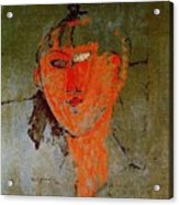 16937 Amedeo Modigliani Acrylic Print