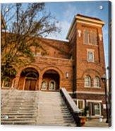 16th Street Baptist Church Steps In Birmingham Alabama Acrylic Print