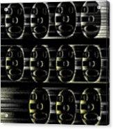 16x9.205-#rithmart Acrylic Print