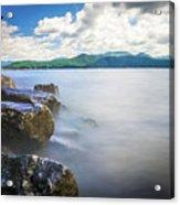 Beautiful Landscape Scenes At Lake Jocassee South Carolina Acrylic Print