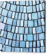 Blue Tiles Acrylic Print
