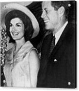 John F Kennedy (1917-1963) Acrylic Print by Granger