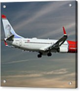 Norwegian Boeing 737-8jp Acrylic Print