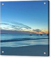 Rocky Daybreak Seascape Acrylic Print