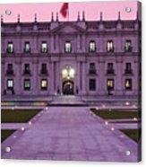 Santiago De Chile Acrylic Print