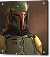 Star Wars Episode 3 Poster Acrylic Print