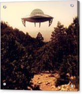 Ufo Sighting Acrylic Print