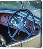 1743.032 1930 Mg Steering Acrylic Print