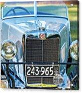 1743.037 1930 Mg Grill Acrylic Print