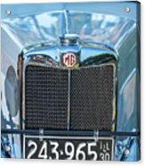 1743.040 1930 Mg Classic Car Acrylic Print