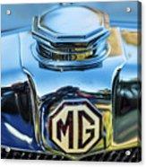 1743.040 Logo 1930 Mg Acrylic Print