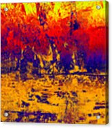1745 Abstract Thought Acrylic Print