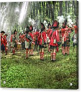 1763 Battle Of Bushy Run Pennsylvania Acrylic Print