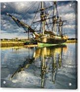 1797 Trading Ship Replica - Friendship Of Salem Acrylic Print