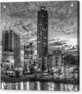 17th Street Dawn Atlantic Station Millennium Gate Art Acrylic Print
