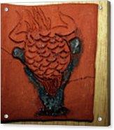 Crazy Pineapple - Tile Acrylic Print