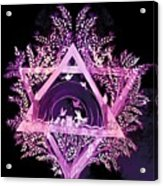 David Star Acrylic Print