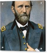 Ulysses S. Grant (1822-1885) Acrylic Print by Granger