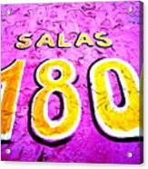 180 Santiago Pinked  Acrylic Print by Funkpix Photo Hunter