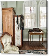 1800 Closet And Chair Acrylic Print