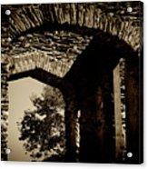 1833 Ruins Acrylic Print