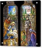 1857 Nativity Scene Acrylic Print