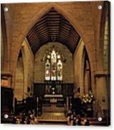 1865 - St. Jude's Church  - Interior Acrylic Print