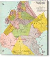 1869 King County Map Acrylic Print