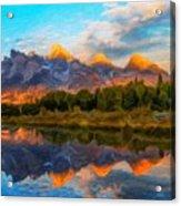 Nature Landscape Oil Acrylic Print