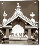1880 Bank Acrylic Print