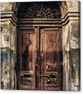 1891 Door Cyprus Acrylic Print