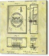 1895 Police Call Box Acrylic Print