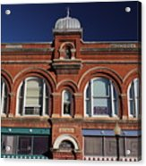 1898 Building Front Acrylic Print