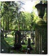 18th Century Cemetery In Virginia Acrylic Print by Don Struke