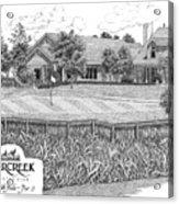 18th Hole - Deercreek Country Club Acrylic Print