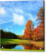 18th Hole Par3 Acrylic Print