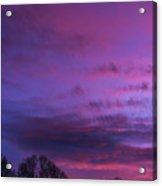 Appalachian Afterglow Acrylic Print