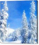 Landscape Color Acrylic Print