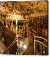 Onondaga Cave Formations Acrylic Print