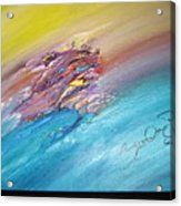 Original Abstract Masterpiece Acrylic Print