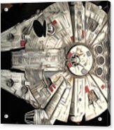 Saga Star Wars Art Acrylic Print