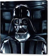 Star Wars Galaxies Poster Acrylic Print