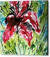 The Divine Flower Acrylic Print