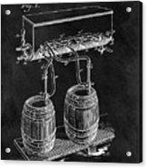 1900 Beer Cooler Acrylic Print