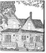 1906 Victorian Farmhouse Acrylic Print