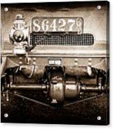 1906 White Model F Roi Des Belges Touring Rear Lamp -0058s Acrylic Print